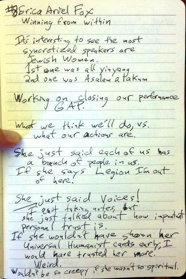 WCAGLS Erica Ariel Fox notes page 1